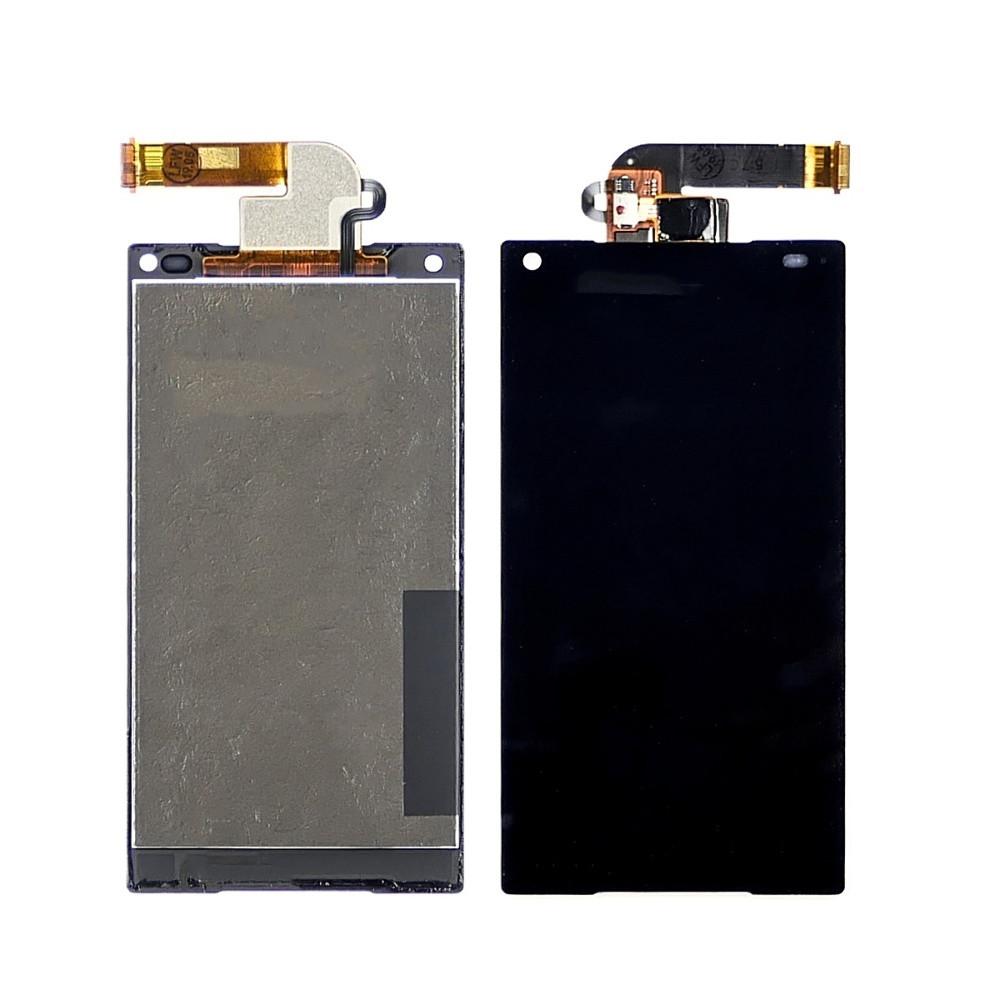 Дисплей для Sony E5803/E5823 Xperia Z5 Compact с черным тачскрином