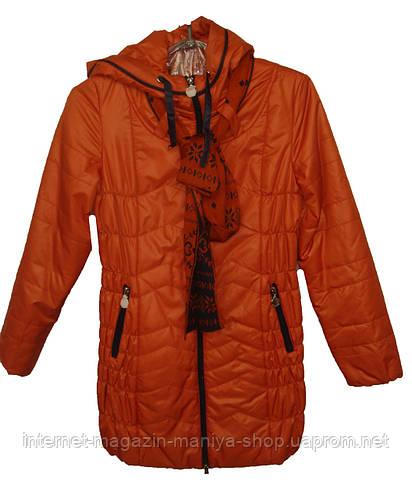 Женская куртка подросток демисезон