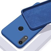 Чехол GRAND Full Silicone Cover для Huawei Y6s Blue