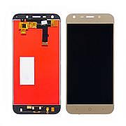 Дисплей для ZTE Blade A6/A6 Lite A0620 с золотистым тачскрином