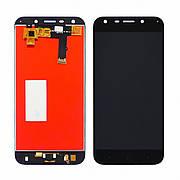 Дисплей для ZTE Blade A6/A6 Lite A0620 с чёрным тачскрином