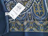 Новела 846-13, павлопосадский хустку (атлас) шовковий з подрубкой, фото 6