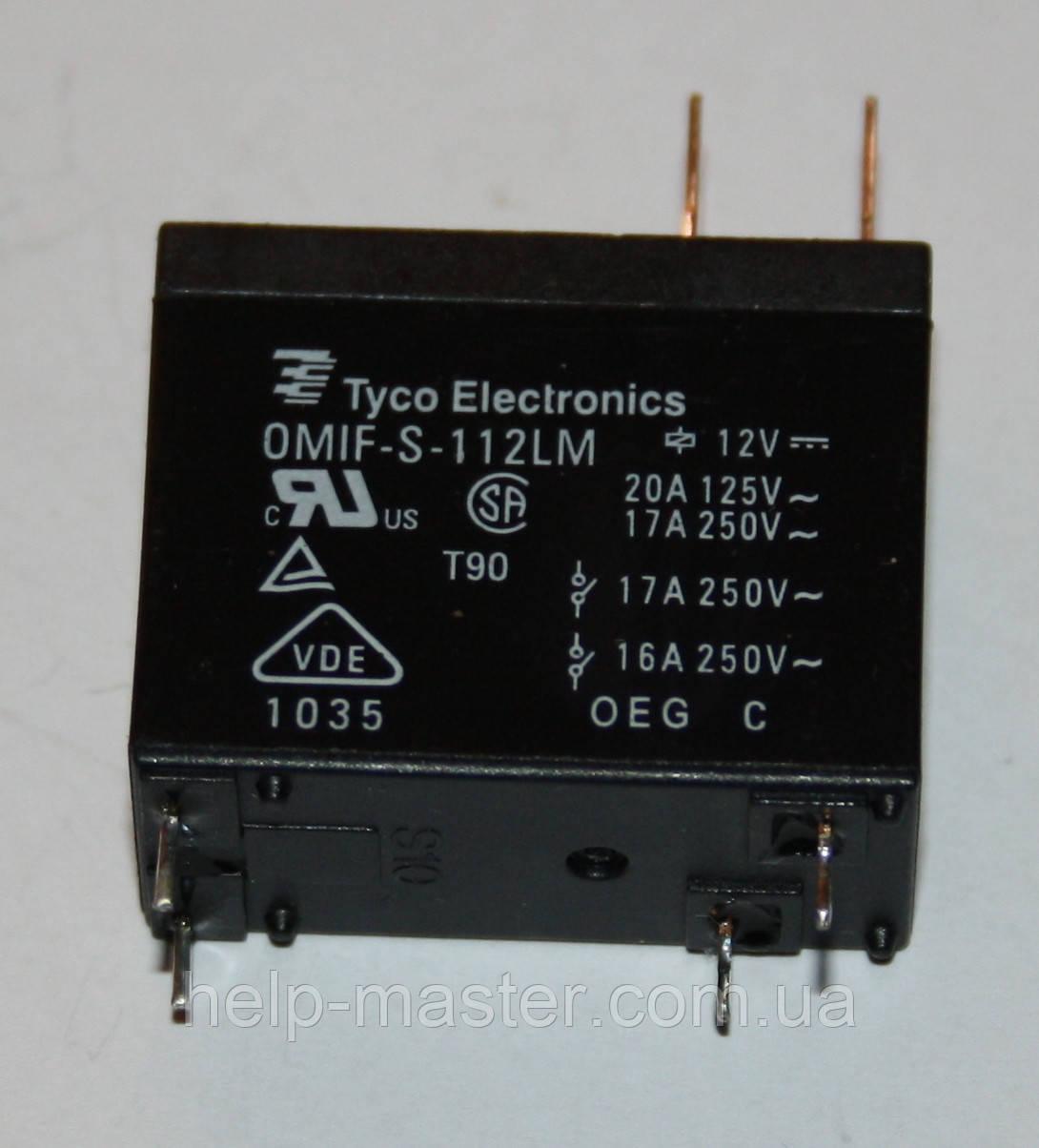 Електромеханічне Реле OMIF-S-112LM; 12VDC