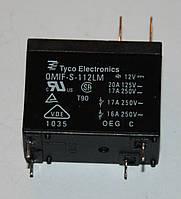 Реле электромеханическое  OMIF-S-112LM;  12VDC