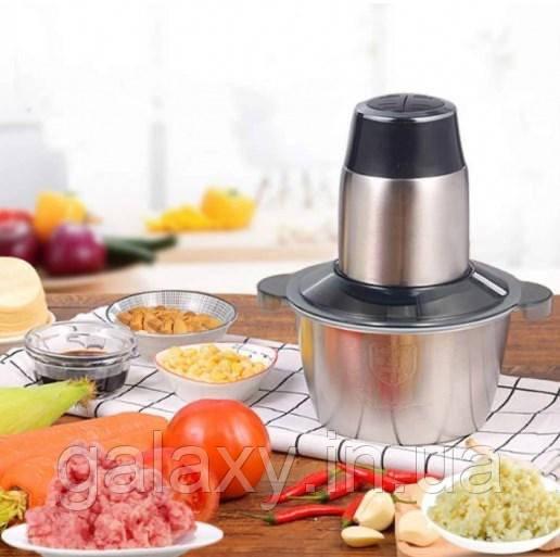 Чоппер DSP с чашей из нержавеющей стали измельчитель для мяса, овощей KM4021