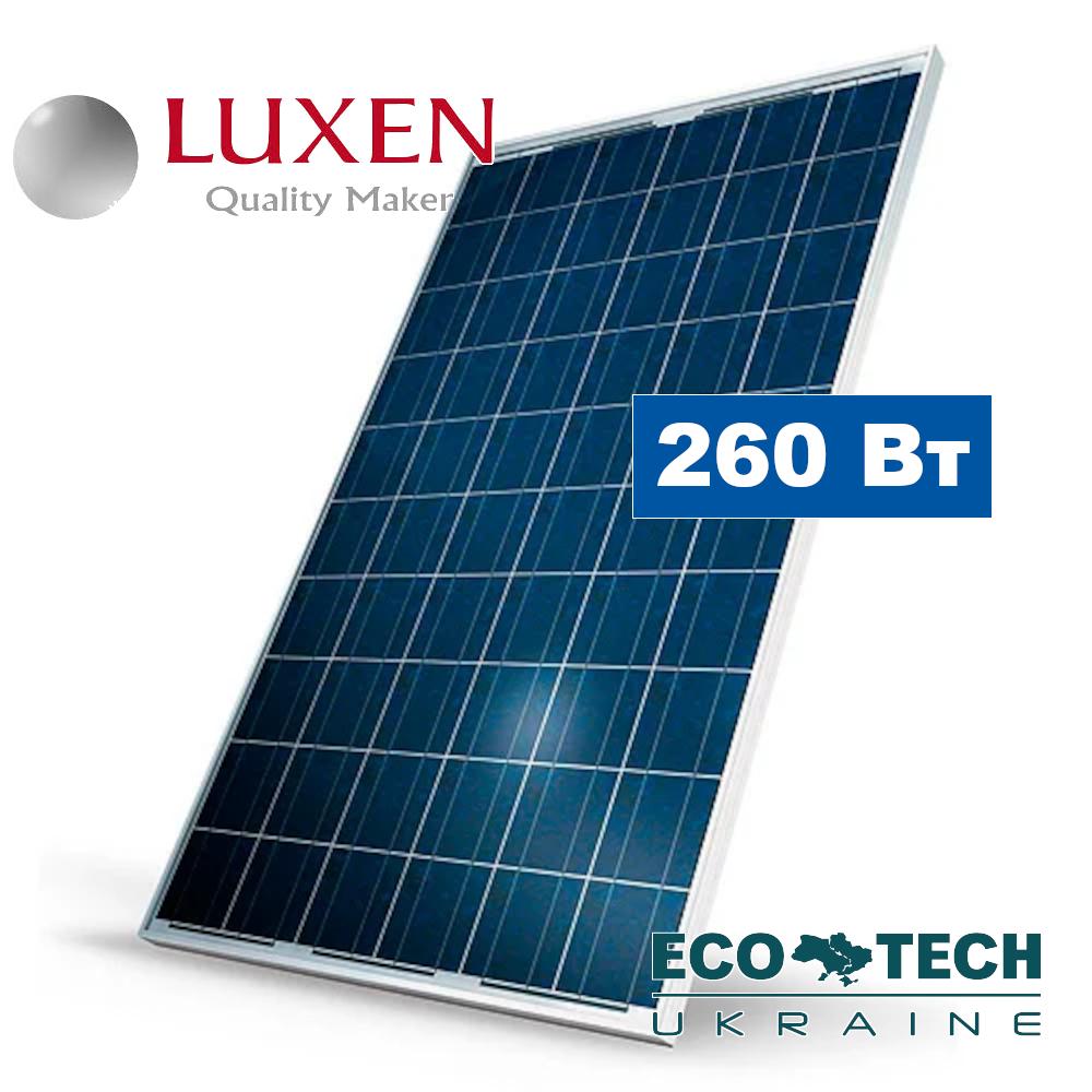 LUXEN LNSE-260P 4 BB солнечная панель (батарея, фотомодуль) поликристаллическая