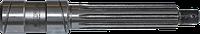 Вал промежуточной опоры карданного вала МТЗ (пр-во ТАРА)