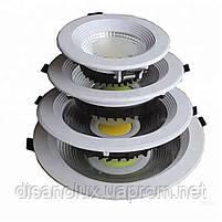 Светодиодный светильник Downlight LED COB DLQ2010R 10W 4200K 220V, фото 6