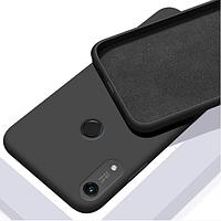 Чехол GRAND Full Silicone Cover для Huawei Y6s Black