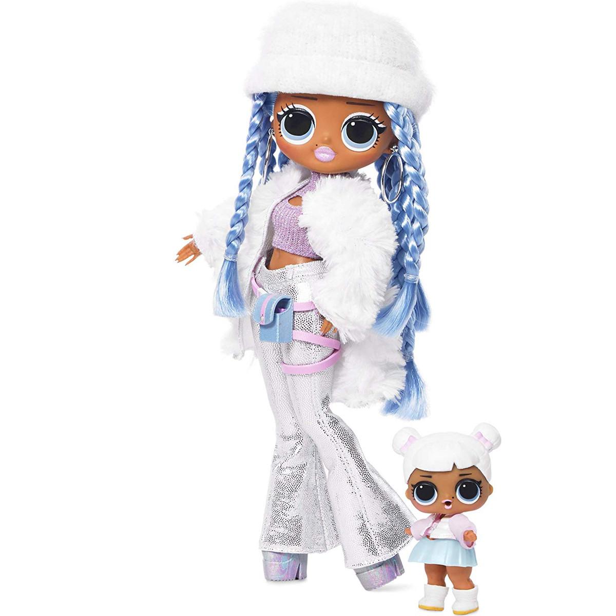 Кукла ЛОЛ ОМГ Снежный ангел Зимнее диско L.O.L. Surprise! O.M.G. Winter Disco Snowlicious