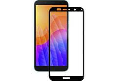 Защитное стекло Full Glue для  Huawei Y5P Черное