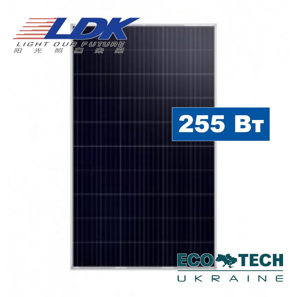 LDK 255P AFW 255W, Poly, 3BB поликристаллическая солнечная панель (батарея, фотомодуль)