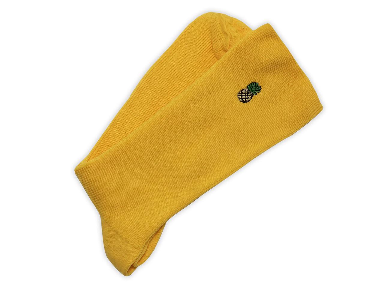 Носки Neseli Daily Premium  Ананас желтые 7301