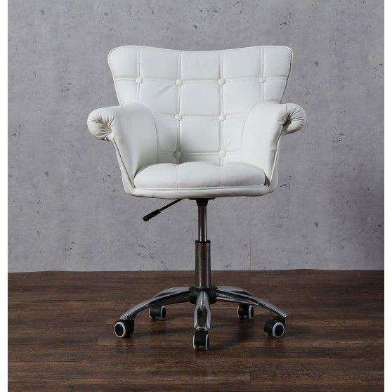 Косметическое кресло HC804K белое