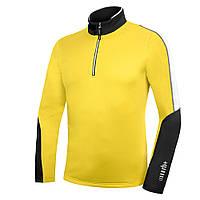 Флисовая кофта ZeroRH+ Planar Jersey light yellow-black (MD)