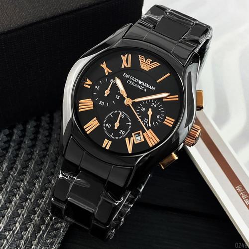 Emporio Armani AR-1400 Black-Gold