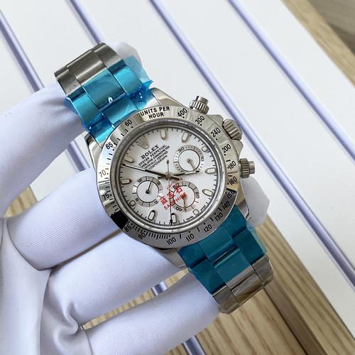 Rolex Daytona Lux Mechanic Silver-White