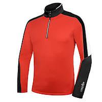 Флисовая кофта ZeroRH+ Planar Jersey red-black (MD)