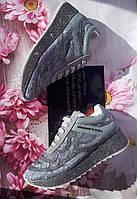 Шикарные женские кроссовки с кружевом и стразами PHILIPP PLEIN