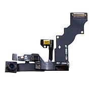 Шлейф для Apple iPhone 6 Plus на спикер, c лицевой камерой и микрофоном
