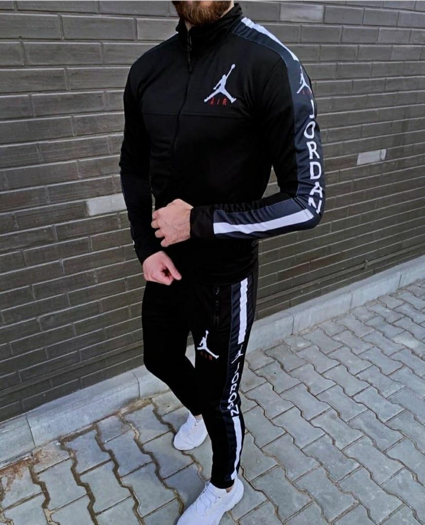Мужской спортивный костюм, лакоста, р-р С; М; Л; ХЛ; ХХЛ (чёрный)