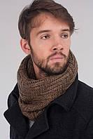 Стильный хомут легко превращается из шарфика в капор