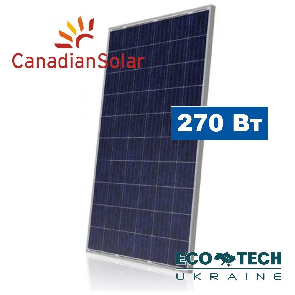 Canadian Solar CS6P270 солнечные панели (батареи) поликристалл 270 Вт