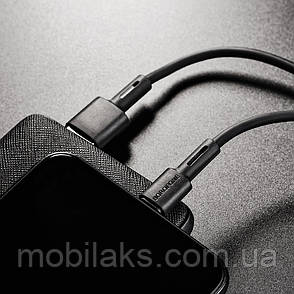 USB кабель Borofone BX31 Silicone Lightning 1m 5A чёрный, фото 2