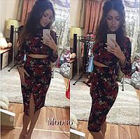 7fe49df8bea Красивое платье костюм. Расцветки МОД-11.10