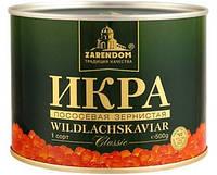 Красная лососевая икра горбуши Зарендом classic 500 гр