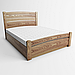 Ліжко дерев'яне односпальне Сідней 3 з підйомним механізмом (масив ясеня), фото 2