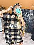 Женское платье, шерсть, р-р С; М; Л (беж+чёрный), фото 5