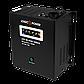 ИБП для Котла Logicpower LPA-W-PSW-500VA(350Вт)2A/5A/10A с правильной синусоидой 12В, фото 2