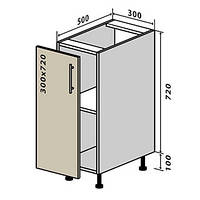 Кухонный модуль №2 низ люкс 300*820, фото 1