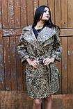 Кардиган с леопардовым принтом на поясе, фото 3