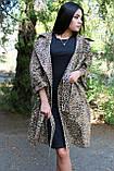 Кардиган с леопардовым принтом на поясе, фото 4