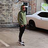 Стильное мужское худи Nike цвета хаки (Найк), фото 2