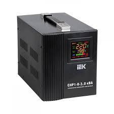 Стабилизатор напряжения переносной HOME 3кВА (СНР1-0-3) IEK
