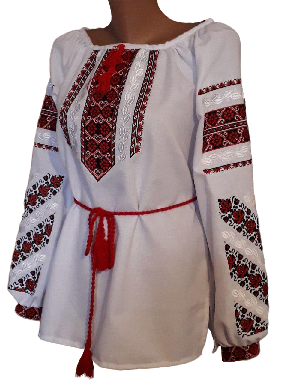 """Женская вышитая рубашка """"Лейтин"""" BN-0020"""