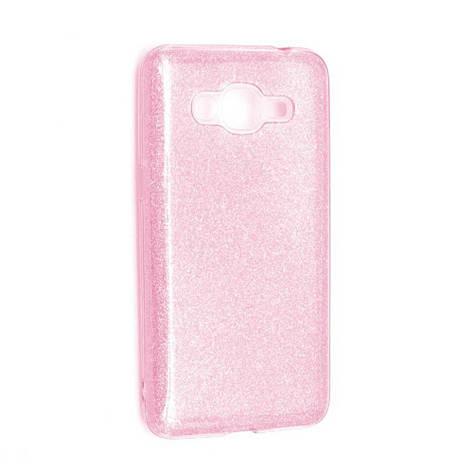 Чехол силиконовый для SAMSUNG J2 Prime Twins розовый, фото 2