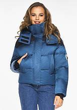 Пуховик женский Youth 24180   Аквамариновая курточка зимняя женская