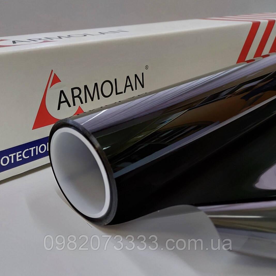 Тонувальна плівка Armolan HPR LR CH 15 металізована тонувальна плівка для скла ширина 1.524