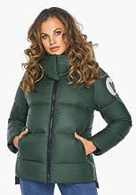 Пуховик женский Youth 23140    Нефритовая куртка зимняя