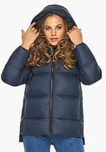 Пуховик женский Youth 23140   Теплая женская куртка синяя