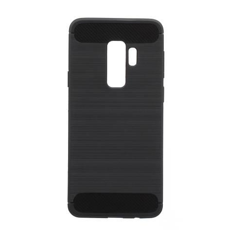 Чехол силиконовый для SAMSUNG S9 Plus Polished Carbon чёрный, фото 2
