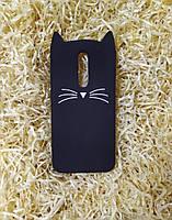 Силиконовый чехол Cat для Meizu M6T, черный
