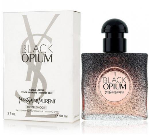 Тестер женский Yves Saint Laurent Black Opium Floral Shock, 90 мл