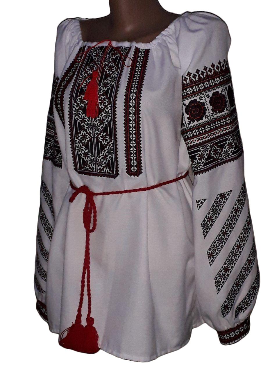 "Жіноча вишита сорочка (блузка) ""Люсінда"" (Женская вышитая рубашка (блузка) ""Люсинда"") BN-0028"