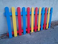 Разноцветный заборчик для детей  1000 х 2000 мм, фото 1