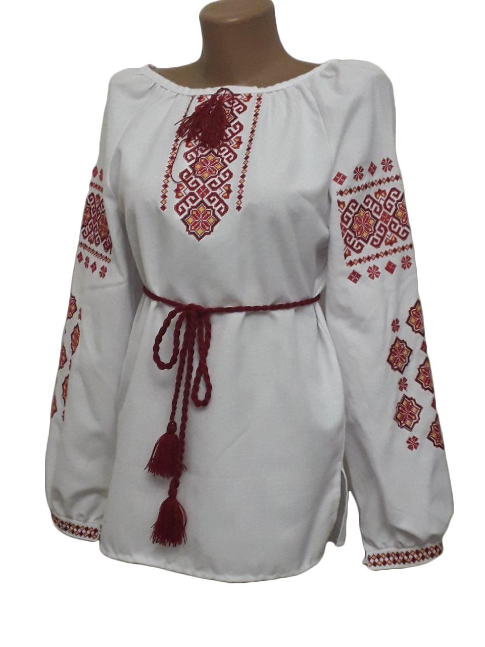 "Женская вышитая рубашка ""Марлен"" BN-0028"